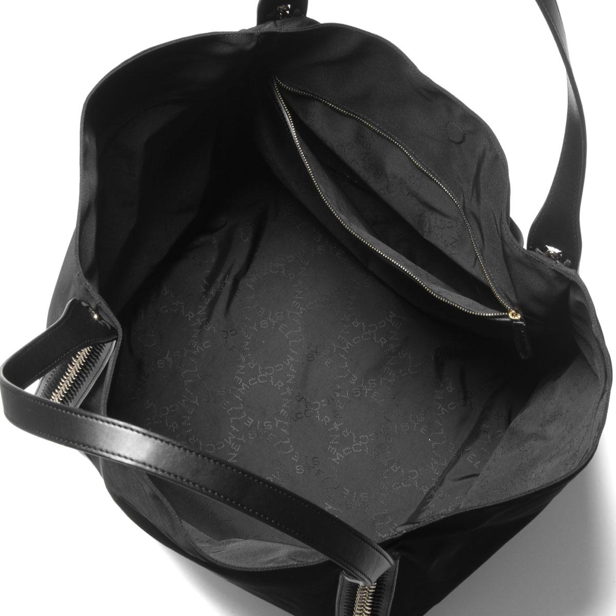 ステラ マッカートニー STELLA McCARTNEY バッグ レディース 557856 W8091 1000 トートバッグ FALABELLA GO ファラベラ ゴー BLACK ブラック