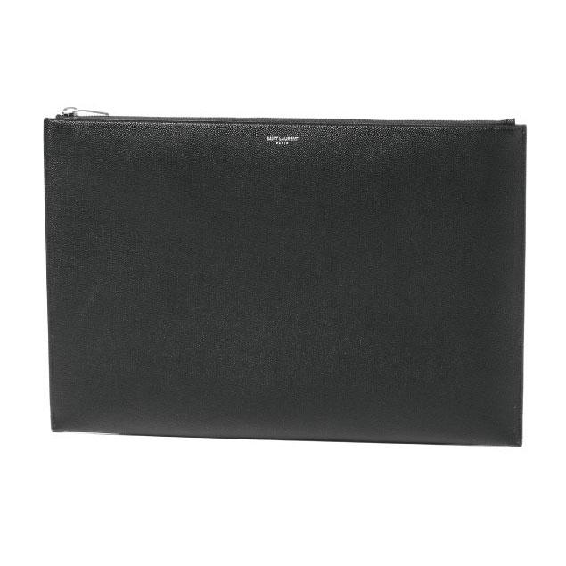 サン ローラン SAINT LAURENT バッグ メンズ 378261 BTY0N 1000 クラッチバッグ BLACK ブラック:インポートショップ DOUBLE