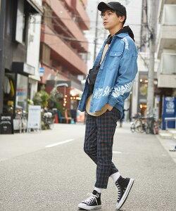 チェック パンツ メンズ レディース 赤 チェックパンツ チェック柄 テーパードパンツ スリム スラックス セットアップ 上下 可能 タータンチェック イージーパンツ テーパード レッド ブルー 青 ストリート系 スケーター メンズファッション