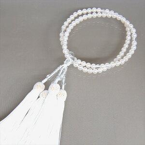 あこや貝本真珠二輪正絹房