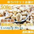 素焼きカシューナッツ500g(250g×2入)【自社工場焙煎/直送!】
