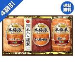 お歳暮御歳暮ハムギフト早割セール送料無料日本ハム本格派ギフト型番:NH-480