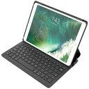 iPad Bluetoothキーボードケース iPad 10.2インチ 第8世代  iPad Pro 10.5 インチ iPad Air 10.5インチ 2019 第3世代 キーボードケース、6行ワイヤレスBluetoothキーボード、スマートパワースイッチ、多角度調整可 在宅勤務 遠隔授業 テレワーク Inateck