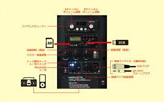 業務用2.4GHzデジタルワイヤレスコンパクトスピーカーセットGPA-680DU