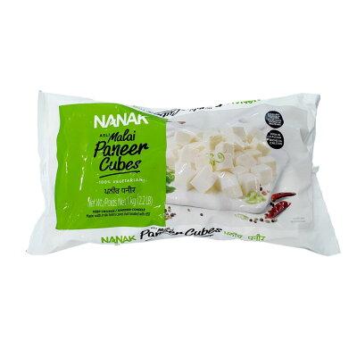 【PANEER CUBE1KG】【NANAK】パニールキューブカット【チーズ】【カッテージチーズ】【冷凍】ナナック-1KG