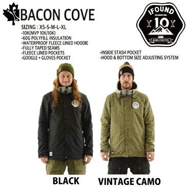 16-17 I FOUND 【アイファウンド】BACON COVE JACKET[17IF3100] 送料無料 スノーボード ウエア ジャケット メンズ レディース