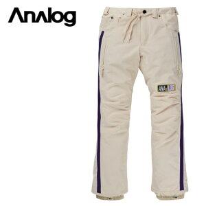 ANALOG アナログ Thatcher Pant パンツ メンズ 20-21 スノーボード ウェア パンツ Creme Brulee Mサイズ