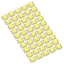 LEDチップ SMD 2012 (インチ表記0805) ホワイト 白発光 50個 ...