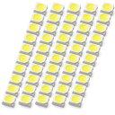 LEDチップ SMD 3528 ホワイト 白発光 50個 打ち替え 打ち換え...