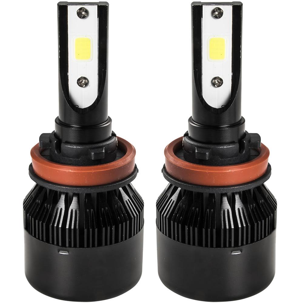 ライト・ランプ, フォグランプ・デイランプ NC H11 LED 12V 30W 3200LM 6500K