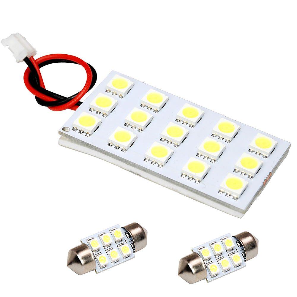 総発光数81発 鬼爆閃光 LEDルームランプ H92W オッティ [H18.10-H25.6] 3点セット