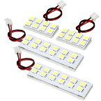 総発光数120発 鬼爆閃光 LEDルームランプ GB3 GB4 フリード 前期 [H20.5-H26.3] 4点セット