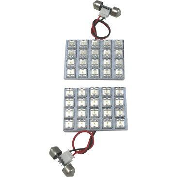200系 ハイエースDX標準 [H16.8-H25.12] RIDE LEDルームランプ 40発 2点