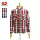 ウエス502152ネルシャツヘビーネル先染めヘビーウェイトネルシャツ長袖シャツチェック柄メンズUES