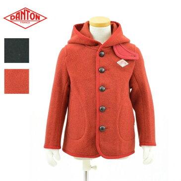 ダントン JD-8576WOM 2color キッズサイズ ウールモッサ シングルフードジャケット DANTON KID'S WOOL MOSSER SINGLE JACKET
