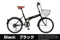 折りたたみ自転車折り畳み自転車20インチシマノ6段変速カギライト前カゴ泥よけ付(RaychellレイチェルFB-206R)街乗りスポーツ折畳み折畳折り畳みおりたたみ通勤通学当店人気上昇