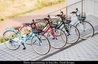シティサイクル自転車26インチシマノ6段変速カゴカギライト標準装備シティサイクルママチャリ入学式や新生活にいかがですかオートライトM-504マイパラスMyPallas【自転車じてんしゃzitennsya】自転車通販