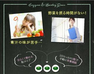 生酵素スムージー【生酵素×大麦若葉ソフトカプセル】90粒約1ヵ月分ダイエット美容青汁