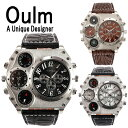 送料無料 Oulm 腕時計 メンズ 防水 日本製ムーブメント ビッグフ...