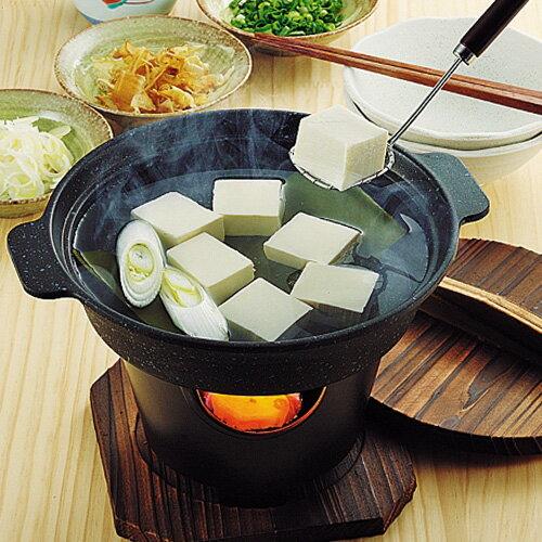 ストロングマーブル懐石湯豆腐・すきやき鍋16cm(パール金属)マーブル加工によりキズに強い!汚れに強い!内面4層、外面3層構造
