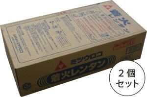 着火レンタン☆煉炭・練炭 4号 8個入り 11kg お得セット(2個)【代引・キャンセル/返品不可】
