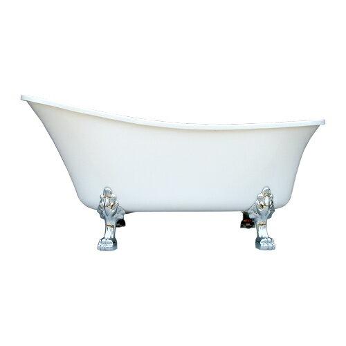 猫足バスタブ 浴槽 置き型 おしゃれ アンティーク風 W1600×D720×H780 | 品番INK-0201003H