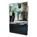 ミラーキャビネット 幅400 洗面台 鏡 812