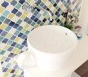 コーヒーカップ洗面ボウル-大-(手洗い鉢・手洗器・洗面台・おしゃれ) INK-0403003H