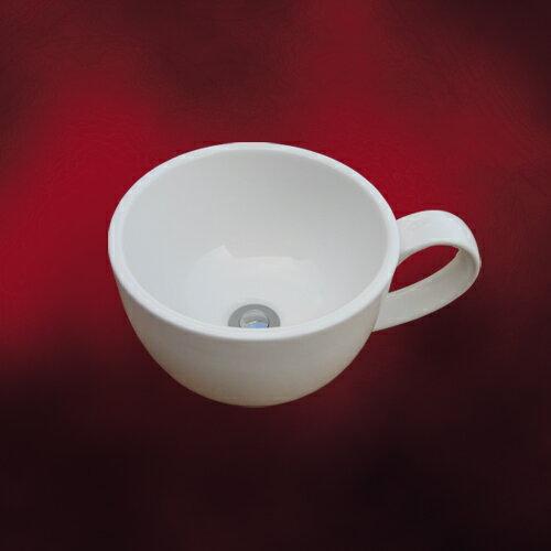 コーヒーカップ洗面ボウル-小-(手洗い鉢・手洗器・洗面台・おしゃれ))W410×D310×H185 INK-040...