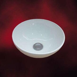 小さい陶器洗面ボール(小・手洗い鉢・陶器洗面ボウル・洗面台・トイレ用・オンカウンターシンク)INK-0405024H
