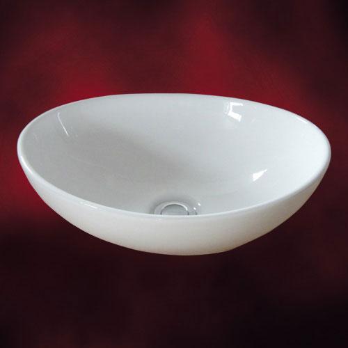 小さい陶器洗面ボール(小・手洗い鉢・陶器洗面ボウル・洗面台・トイレ用・オンカウンターシンク)...