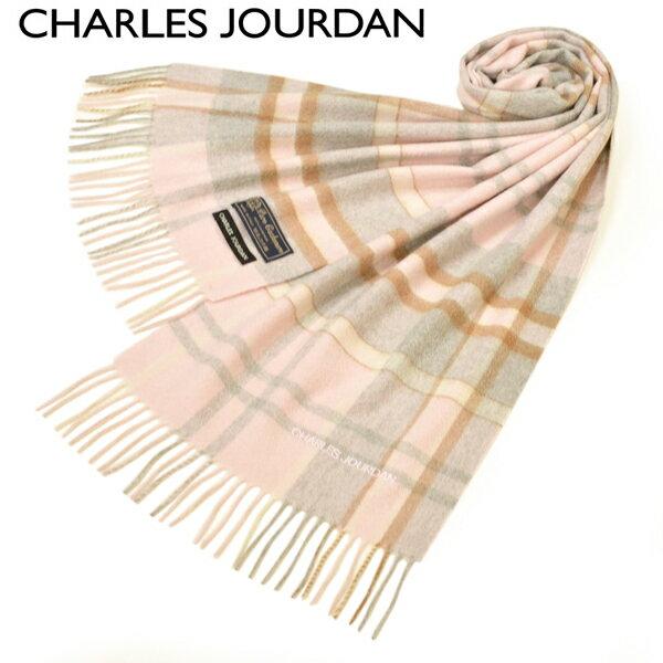 マフラー・スカーフ, レディースマフラー・ストール  CHARLES JOURDAN 2020-21AW (180cm30cm)ecj20w118 R9882 PINK