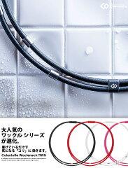 コラントッテワックルネックTWINColantotte磁気ネックレスアクセサリースポーツ防水ゴルフステンレスシリコン