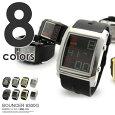 腕時計メンズレディース防水バウンサースポーツウォッチBOUNCER6300G黒ブラックシルバーゴールドホワイトデジタル