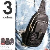 ワンショルダーバッグ メンズ ボディバッグ レザー カバン かばん 鞄 ショルダーバッグ ブラック レッド ホワイト 革 大容量 通勤 通学