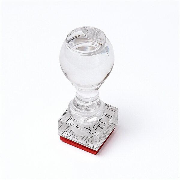 先生印(資格印・職印・士業印)角印[アクリルゴム印・赤ゴム]6号・印面約18x18mm