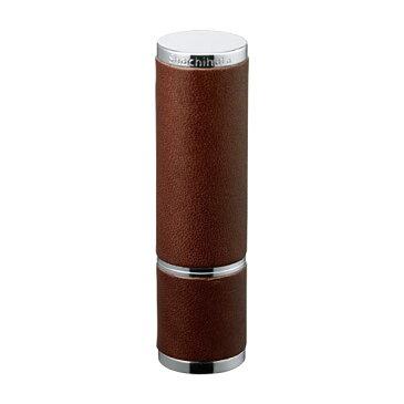 シャチハタ・Xスタンパー・ネーム9Vivo Leather Selection・ヴィーボレザーセレクション・ブラウン・ネーム印9.5mm(別注品・Bタイプ)[Shachihata・Xstamper・TKV-LT-A2]/商品コード:49602