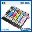 ITH-6CL インク インクカートリッジ エプソン epson イチョウ 6色セット プリンターインク 互換インク リサイクル ITH-BK ITH-C ITH-M ITH-Y ITH-LC ITH-LM 6色パック ITH 純正インクと同等 EP-709A 送料無料