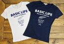 レディース Basic ヤシ Tシャツ ロゴ フラダンスハワイ