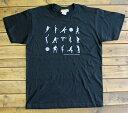 バスケット柄メンズTシャツ白黒バスケットボール hmt001