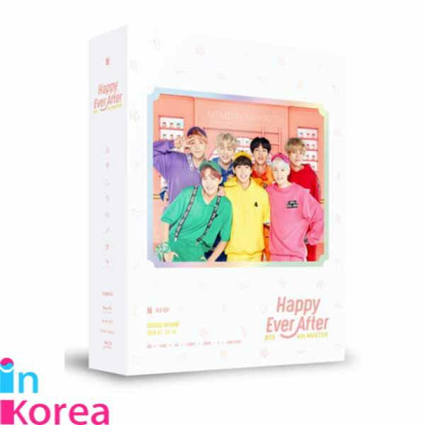 韓国(K-POP)・アジア, 韓国(K-POP)・アジア  BTS 4TH MUSTER HAPPY EVER AFTER BLU-RAY3DISC DIGIPAK PHOTOBOOK(16P) EMBOSSING STICKER(1EA) K-POP BTS Blu-ray
