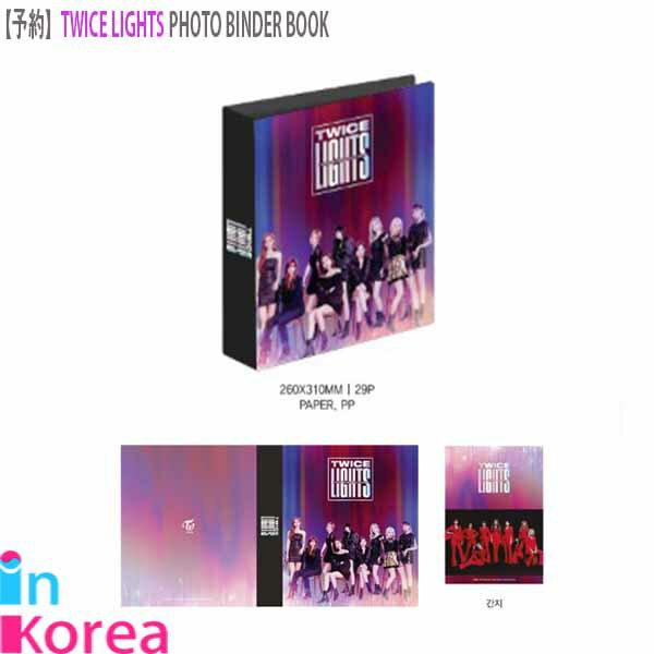 コレクション, コレクションケース TWICE TWICE PHOTO BINDER BOOK K-POP TWICE LIGHTS WORLD TOUR 2019 OFFICIAL GOODS TWICE TWICE