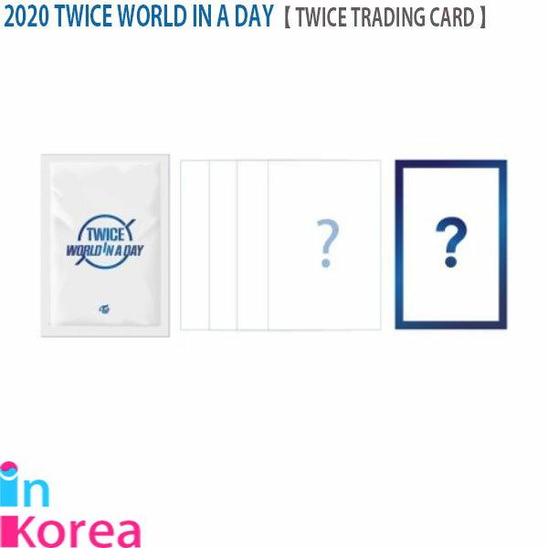 トレーディングカード・テレカ, トレーディングカード TWICE TRADING CARD(5) TWICE K-POP 2020 TWICE WORLD IN A DAY OFFICIAL GOODS TWICE