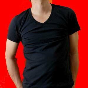東レ【ソフトサーモ】吸湿発熱Vネック半袖Tシャツ:02HT44[半袖V首Tシャツ/ウォームビズ/ユニクロ]【あす楽_土曜営業】【あす楽_日曜営業】【セール】【05P03Dec16】