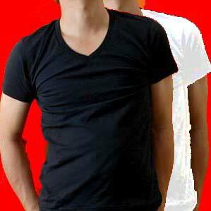 東レ【ソフトサーモ】発熱保温Vネック半袖Tシャツ:〔02HT4ヒートテック〕