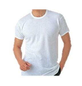 ★送料無料★【綿100%/吸湿発熱加工】半袖丸首シャツ4枚セット1106PUP10本日ポイント10倍中