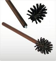 サーモウッドの天然木とナイロンのブラシ毛