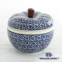 [Boleslawiec/ボレスワヴィエツ陶器]リンゴのポット12.5cm-120
