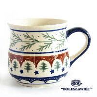 [Boleslawiec/ボレスワヴィエツ陶器]マグカップ-176