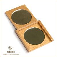 [REDECKER/レデッカー]天然木のコンパクトミラー